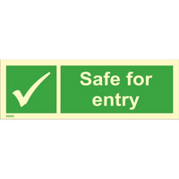 Safe for entry