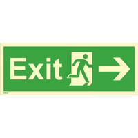 Exit, right