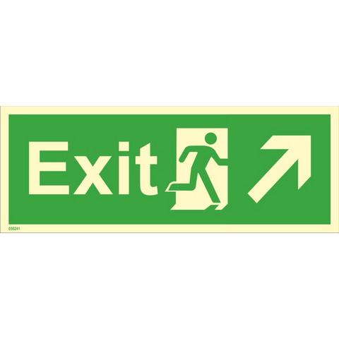 Exit, yläoikea