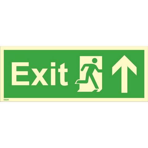 Exit, up right side