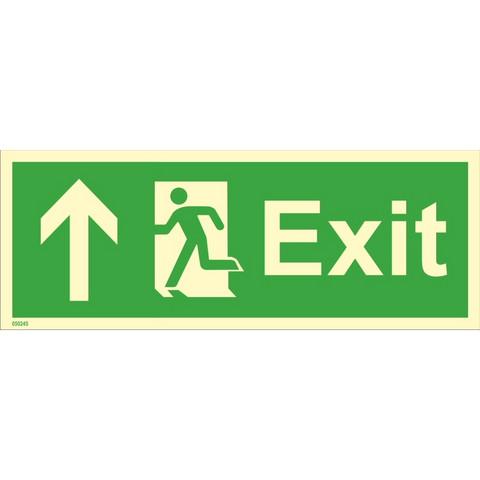 Exit, up left side