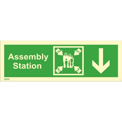 Assembly station, down right side