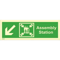 Assembly station, down left