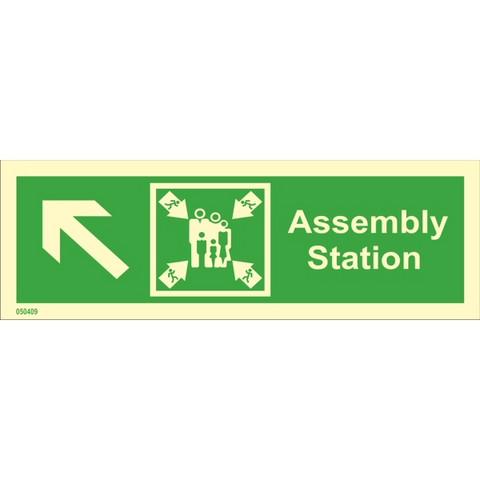 Assembly station, up left