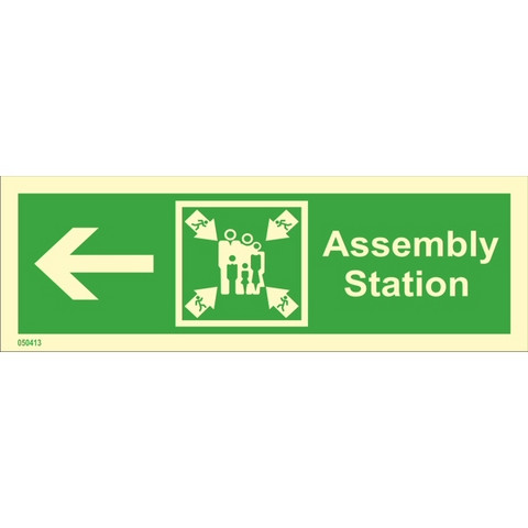 Assembly station, left