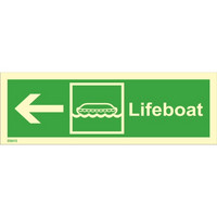 Lifeboat, left