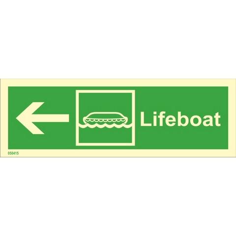 Lifeboat, left