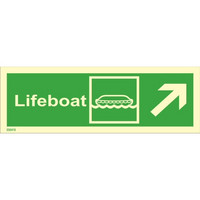 Lifeboat, up right