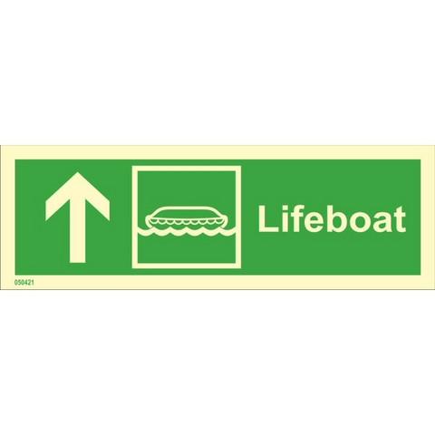 Lifeboat, up left side