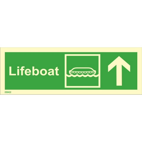 Lifeboat, up right side