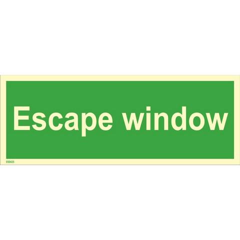 Ikkuna hätäpoistumiseen