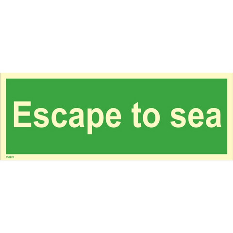 Escape to sea