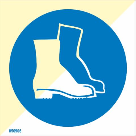 Wear boots