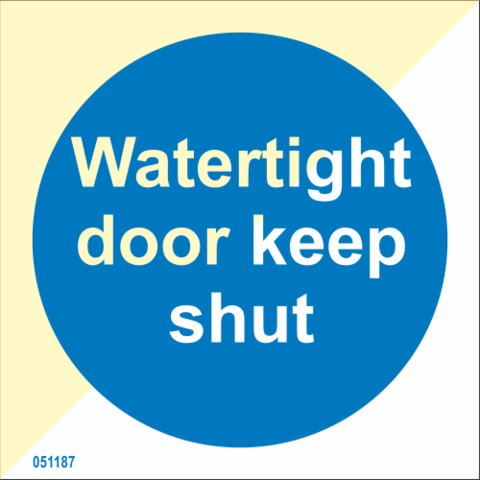 watertight door keep shut