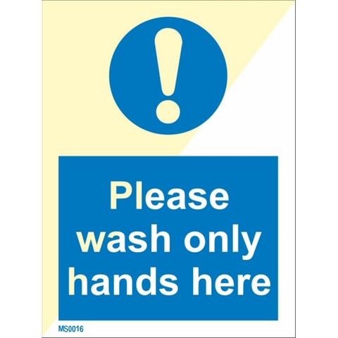 Tässä vain käsien pesu, kiitos
