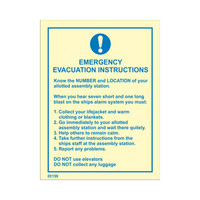 Emergency Evacuation Instruction