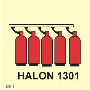 Halon 1301 battery