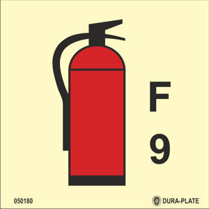 Foam fire extinguisher 9kg