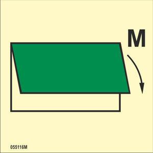 Tuuletuksen sulkulaite sisään tai ulos M
