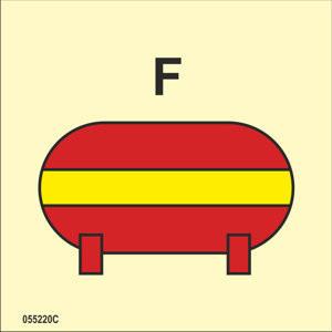 Fixed fire-extinguishing installation Foam F