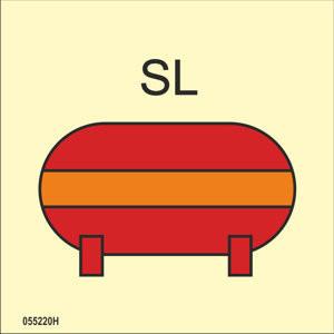 Kiinteä SL oranssi sammutusjärjestelmä