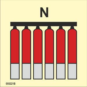 Kiinteä typpi N palosammuttimien ryhmä