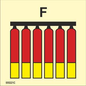 Fixed fire-extinguishing battery Foam