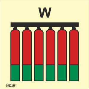 Kiinteä vesi W palosammuttimien ryhmä