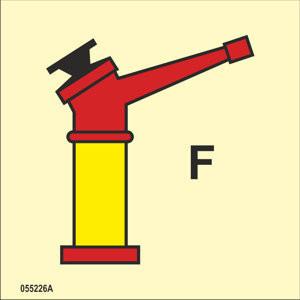 Vaahtosammutuslaite F