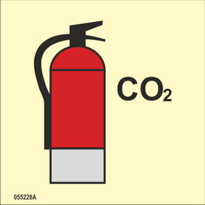 CO2 sammutin
