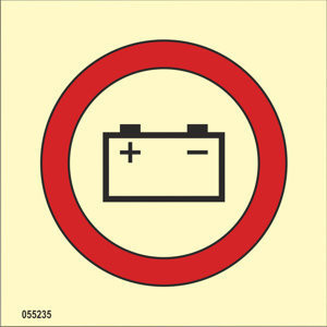 Emergency source of electrical power battery ISO 17631
