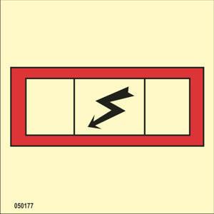 Emergency switchboard ISO 17631