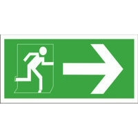 Exit Right With Arrow