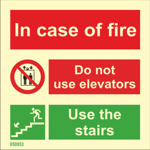 In Case of Fire, Do Not Use Lift, Use the Stairs