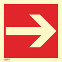 This way (straight arrow)