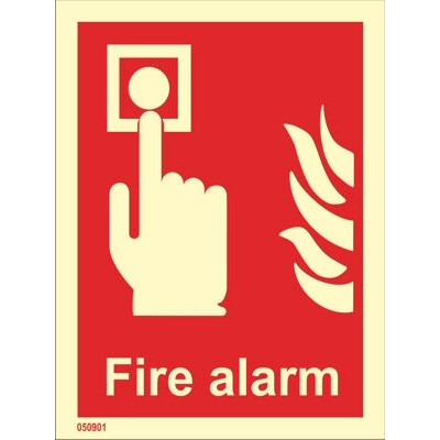 Fire Alarm (with text)