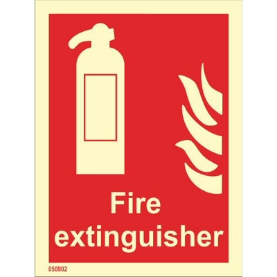 Fire Extinguisher (with text)