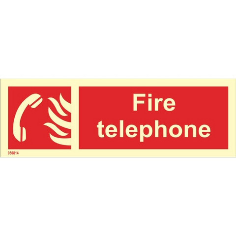 Fire Telephone (with text, horizontal)