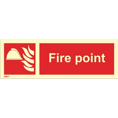 Fire Point (with text horizontal)