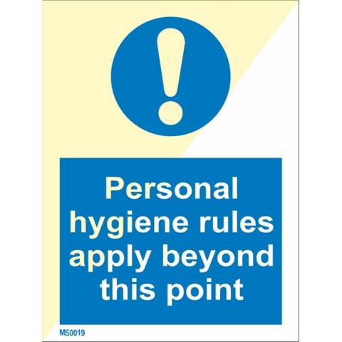 Henkilökohtaiset hygieniasäännöt tästä alkaen voimassa