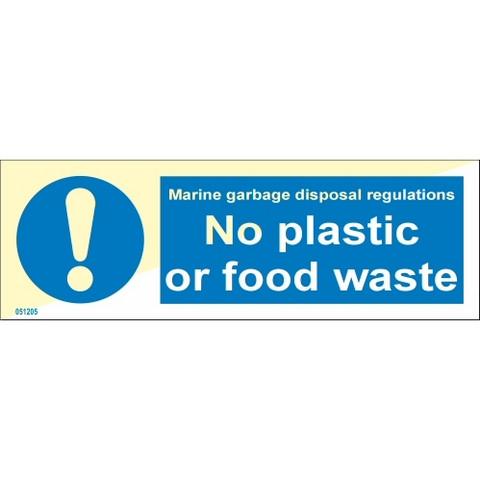 Ei muovia tai ruokajätteitä