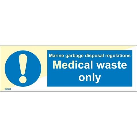 Vain lääketieteellinen jäte