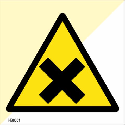 Harmful or irritant materials