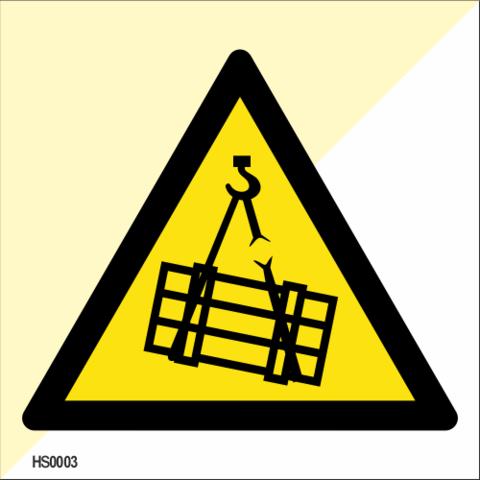 Danger: Overhead crane