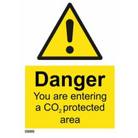 Caution You Are Entering A CO2 Protected Area