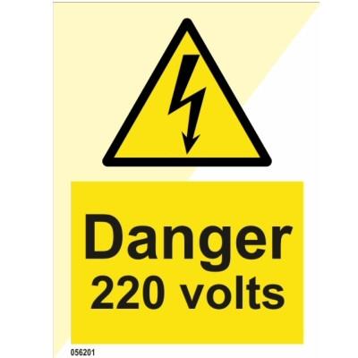 Danger 220 Volts
