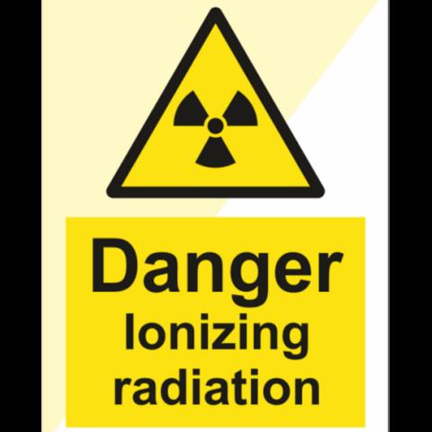 Danger ionizing radiation