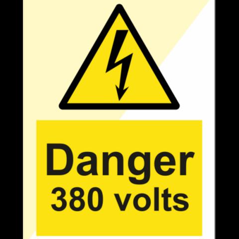 Vaara 380 volttia