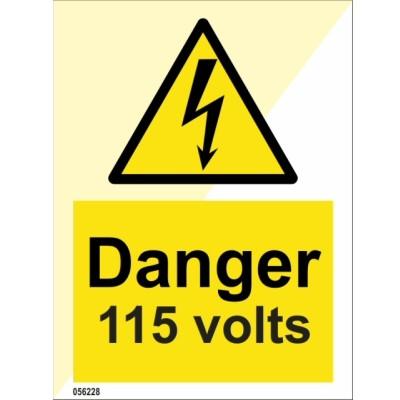 Danger 115 Volts