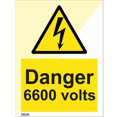 Vaara 6600 volttia